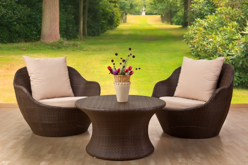 Cleaning and caring of outdoor furniture